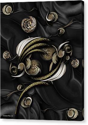 Structure In Spirit Canvas Print