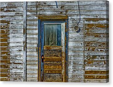 Structure.2387 Canvas Print by Gary LaComa