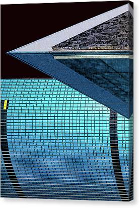 Structures West 3 Canvas Print by Bruce Iorio