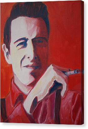 Strummer Canvas Print by Natasha Laurence