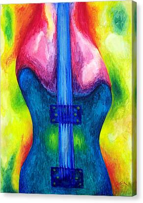 Strung Out Canvas Print by Shasta Miller