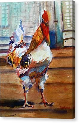 Struttin Canvas Print by Joyce A Guariglia