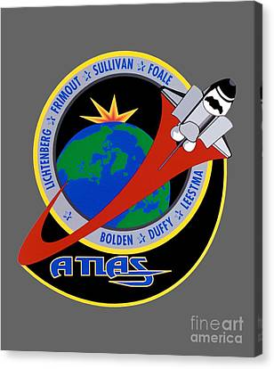 Sts-45 Patch  Canvas Print by Art Gallery