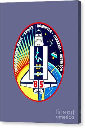 Sts-85 Insignia Canvas Print by Art Gallery