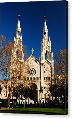 Sts Peter And Paul Canvas Print by James Kirkikis
