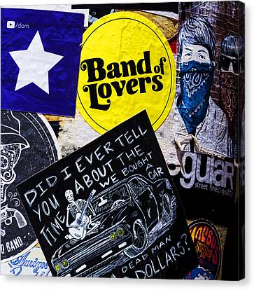 Stuck On Band 'aid' Canvas Print by Stephen Stookey