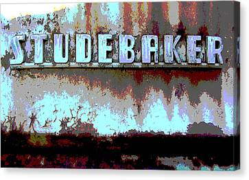 Studebaker  Canvas Print by Audrey Venute