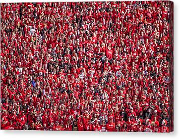 Student Section Canvas Print by Todd Klassy
