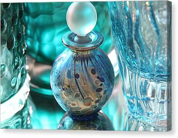 Studies In Glass...murano Canvas Print by Lynn England