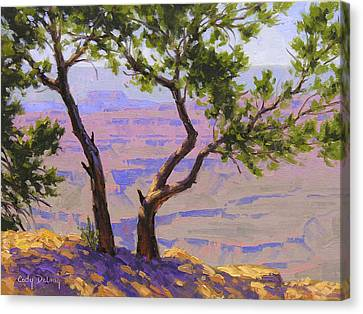 Study For Canyon Portal Canvas Print by Cody DeLong
