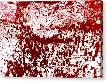 Microcosm Canvas Print - Study For Na Two Everybody Run by Kika Pierides
