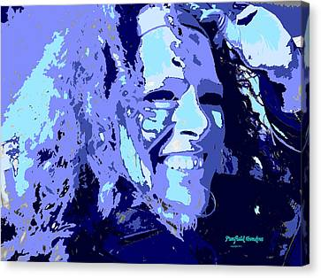Study In Blue 1 Canvas Print by Penfield Hondros