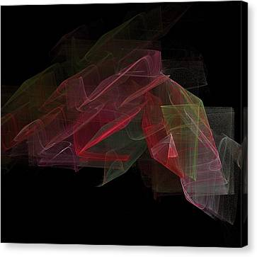 Study In Space Canvas Print by Thomas Smith
