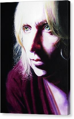 Study Of Alice Canvas Print by Denny Bond