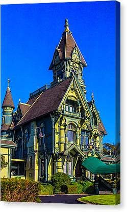 Stunning Carson Mansion Canvas Print by Garry Gay