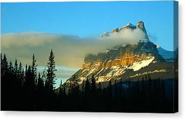 Stunning Mountain Canvas Print by Mario Brenes Simon