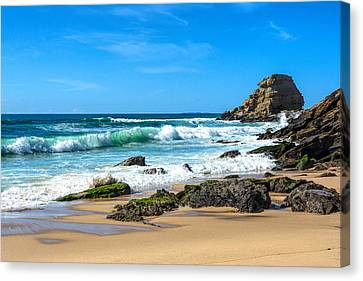 Canvas Print featuring the photograph Stunning Seascape by Marion McCristall
