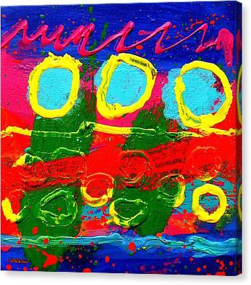 Sub Aqua IIi - Triptych Canvas Print by John  Nolan