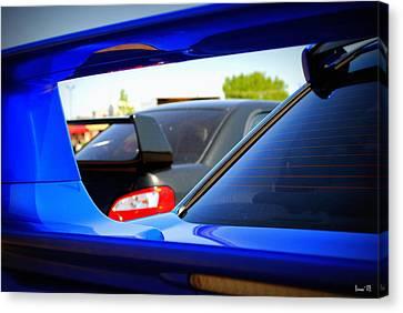 Subaru Impreza Canvas Print - Subaru Impreza Wrx Sti by Bonae VonHeeder