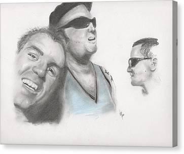 Sublime Trio Canvas Print