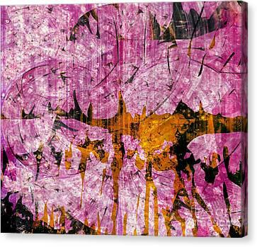 Goree Canvas Print - Submit A Dance   by Fania Simon