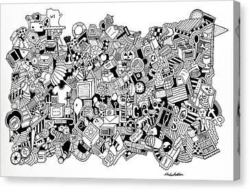 Different Stuff Canvas Print - Substance by Chelsea Geldean