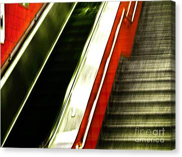 Subway  Canvas Print by Emilio Lovisa