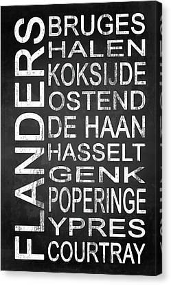 Limburg Canvas Print - Subway Flanders Belgium 5 by Melissa Smith