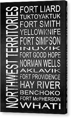 Subway Northwest Territories Canada 1 Canvas Print