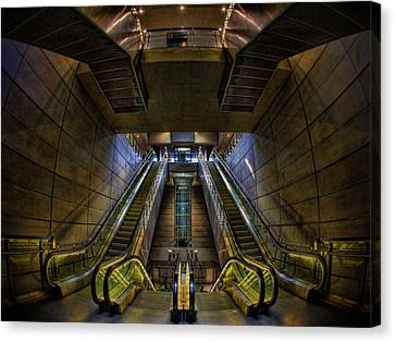 Canvas Print featuring the photograph Subway by Stefan Nielsen