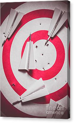 Success And Failures. Business Target Canvas Print by Jorgo Photography - Wall Art Gallery