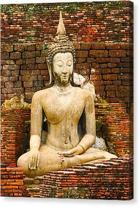 Sucuthai Buddha Canvas Print