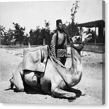Sudan: Colonial Soldier Canvas Print by Granger