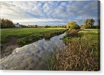 Sudbury River Canvas Print by Ian Merton