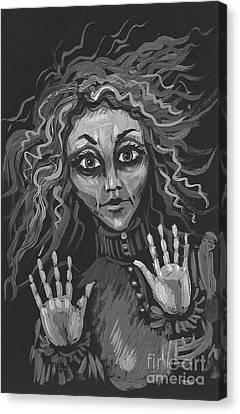 Sudden Appearance Canvas Print by Margaryta Yermolayeva
