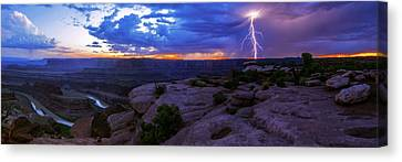 Colorado Plateau Canvas Print - Sudden by Chad Dutson