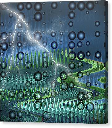 Sudden Storm Canvas Print by Wendy J St Christopher