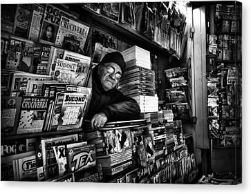 Sudoku Corner... Canvas Print by Antonio Grambone