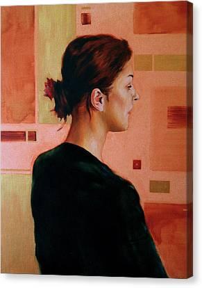 Sue Canvas Print by Stuart Gilbert