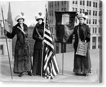 Suffragettes, C1910 Canvas Print by Granger