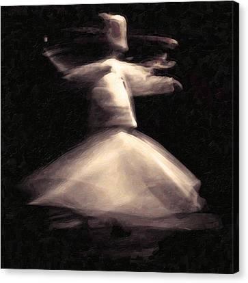 Sufism Art Canvas Print by MotionAge Designs