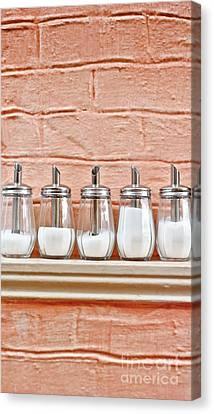 Sugar Dispensers Canvas Print