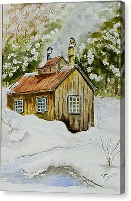 Sugar Shack Canvas Print by Jim Decker