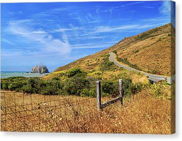 Canvas Print featuring the photograph Sugarloaf Island On The Lost Coast by James Eddy