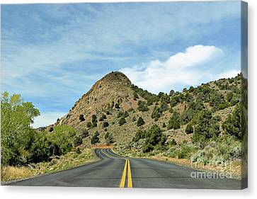 Canvas Print featuring the photograph Sugarloaf Mountain In Six Mile Canyon by Benanne Stiens