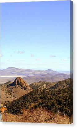 Canvas Print featuring the photograph Sugarloaf Mountain by Lynn Bawden