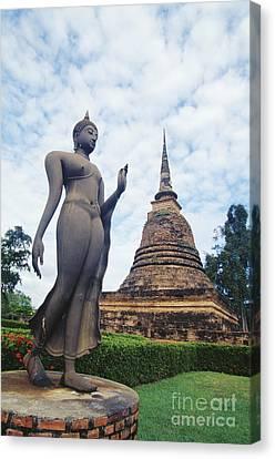 Sukhothai Historical Park Canvas Print by Bill Brennan - Printscapes