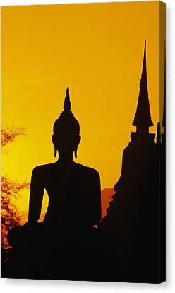 Sukhothai Temple Canvas Print by Gloria & Richard Maschmeyer - Printscapes