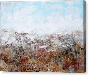 Sukkos Canvas Print - Sukkot I 2015034 by Alyse Radenovic