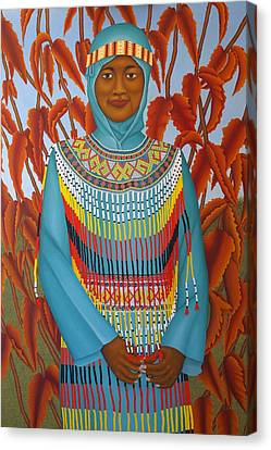 Sulawesi Girl Canvas Print by Brian Leverton